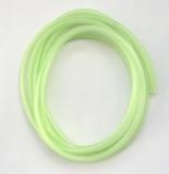Leuchtschlauch, Fluo-Grün/grün selbstleuchtend, 4 mm, Preis für 2 Meter