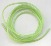 Leuchtschlauch, Moos-Grün/grün selbstleuchtend, 4 mm, Preis für 2 Meter
