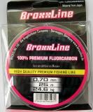 BroxxLine Fluorocarbon Vorfachschnur, 0,70 mm, Länge: 25 Meter