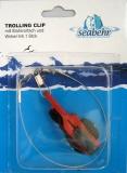 Behr Trolling-Clip mit Stahlvorfach und Wirbel