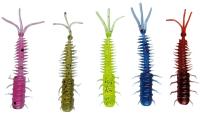 TORTUGA 3 Soft-Baits, 3,9 cm, Aroma: Forelli-Shrimp, Packungsinhalt: 5 Stück