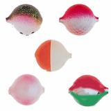 Lil Corky Farben-Mix Set 1, Farbe: GRBO, RGH, LUSL, PLR, MIST, Gr. 14 = 6 mm, Preis für 5 Stück