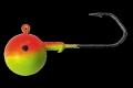 PROFI-BLINKER Rundkopf-Dorschbombe lackiert, Hakengr. 4/0, 60 g, 2er Pack