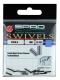 SPRO Single Klemmhülsen, 2,0 mm, Packungsinhalt: 20 Stück