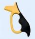 Behr Messeschärfer mit ABS-Griff