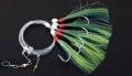 SÄNGER AQUANTIC Makrelensystem, grün, Ausführung: Glitterfäden gekräuselt