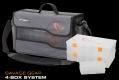SAVAGE GEAR 4-Box System L Pro Tasche, Farbe: mittelgrau