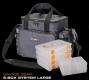 SAVAGE GEAR 6-Box System L Pro Tasche, Farbe: mittelgrau