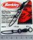 Berkley Ball Bearing Cross-Lok Snap Wirbel, Gr. 5, 175 LB., Packungsinhalt: 2 Stück