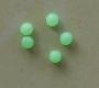 asari Leuchtperlen, rund, 6 mm, Packungsinhalt: 25 Stück