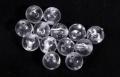 YOKOZUNA transparente Perlen, rund, 4 mm, Packungsinhalt: 25 Stück