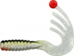 YAD Jigpointer, Länge: 16 cm, silber/silberner Glitter/dunkelgrün bis schwarz/fluo. Point