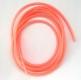Leuchtschlauch, Fluo-Pink/pink-rosa selbstleuchtend, 4 mm, Preis für 2 Meter