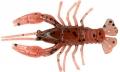 RELAX Krebs (Crawfish), orange/silberner Glitter/hellbraun/schwarzer Glitter, 5,5 cm