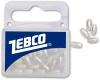 ZEBCO Rice Beads (Perlen), perlmutt, 6/3 mm, Packungsinhalt: 100 Stück