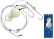ZEBCO Flatty Teaser Inline Rig, bleifrei, 80 g, white/glow