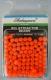 Shakespeare Perlen, orange / fluo-orange, 5 mm, Packungsinhalt: ca. 100 Stück