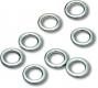 QUANTUM Sea Assist Solid Ring / Spare Rig Rings, 10 mm, Packungsinhalt: 10 Stück