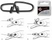 QUANTUM Fast Change X-Strong Crosslock Snap, 10 mm, 17 kg, Packungsinhalt: 10 Stück
