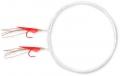 ZEBCO Holografix Heringsvorfach, Farbe: Red Fish Skin, 2 x Hakengr. 10