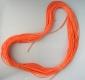 SAKUMA Silikonschlauch, 2 mm, orange, Preis für 2 Meter
