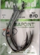 Mustad ULTRA POINT Catfish Hook, Waller-Haken, Gr. 8/0, Packungsinhalt: 3 Stück