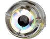 YAD Multi Flasher bunt mit Durchlaufschnurloch, 3-farbiges blinken (rot, grün, weiss), Inhalt: 1 Stück