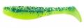 RELAX Kopyto 4L, 10-11 cm (4), laminiert, silk/chartreuse/blauer Glitter