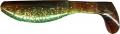 RELAX Kopyto 5, 12,5-14 cm (5), laminiert, chartreuse/motoroil/silber-roter Glitter