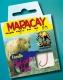 MARACAY Vorfachhaken Forelle, rot, Hakengr. 8, Inhalt: 10 Stück