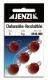 JENZI / DEGA Cheburashka Blei (Vorschaltblei), rot, 6 g, Inhalt: 5 Stück