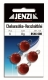 JENZI / DEGA Cheburashka Blei (Vorschaltblei), rot, 8 g, Inhalt: 4 Stück