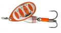 SAVAGE GEAR Rotex Spinner, Fluo Orange Silver, #5, 14 g