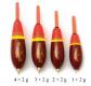Behr Forellenpose vorbebleit, braun/gelb/orange/rot, 2 + 2 g
