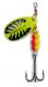 Behr TRENDEX Cyber Spin, chartreuse-schwarz, Gr. 5, 15 g