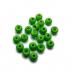 TRENDEX Tungsten Perlen mit Loch (rund), Fluo-Green, 3,5 mm, Packungsinhalt: 20 Stück