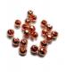 TRENDEX Tungsten Perlen mit Schlitz, Kupfer, 2,5 mm, Packungsinhalt: 20 Stück