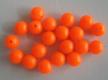 SAKUMA Kunststoff-Perlen, Orange, 8 mm, lose, Preis für 20 Stück