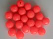 SAKUMA Kunststoff-Perlen, Fire Red / rot, 8 mm, lose, Preis für 20 Stück