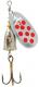 JENZI Phantom-F Glockenspinner, Gr. 2, 6 g. Silver Red