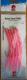DEGA Gummi-Makk Classic,  Hakengr. 6/0, Farbe: Pink mit Glitter, Inhalt: 5 Stück
