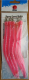 DEGA Gummi-Makk Classic,  Hakengr. 10/0, Farbe: Pink mit Glitter, Inhalt: 5 Stück