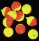 Original USA-Corky, Farbe: FLCH, 10 mm, Packungsinhalt: 5 Stück