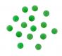 DEGA Luminous Softperlen, Farbe: Lum. Green, 6 mm, Packungsinhalt: 15 Stück