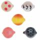 Lil Corky Farben-Mix Set 2, Farbe: CHFL, PLSP, BP, LUSP, BGBT, Gr. 12 = 8 mm, Preis für 5 Stück