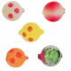 Lil Corky Farben-Mix Set 2, Farbe: LUSP, LURR, GCL, ORCL, MLPT, Gr. 14 = 6 mm, Preis für 5 Stück