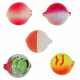 Lil Corky Farben-Mix Set 4, Farbe: LURR, RGH, LUSL, MLPT, RHT, Gr. 14 = 6 mm, Preis für 5 Stück