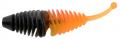 Trout Master Incy Grub, Orange/Black, Inhalt: 6 Stück