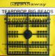 Breakaway Teardrop Beads, dunkelblau, 1 x 96 Perlen