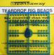 Breakaway Teardrop Beads, hellblau, 1 x 96 Perlen